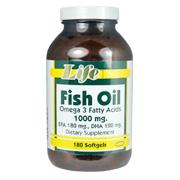 Fish Oil 1000 mg Omega 3 Fatty Acids -