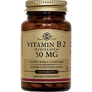Vitamin B2 50 mg Riboflavin -