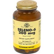 Seleno 6 200 mcg Yeast-Free Selenium -