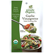 Simply Organic Garlic Vinaigrette Dressing -