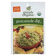 Simply Organic Guacamole Dip -