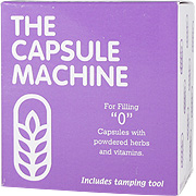 Capsule Machine ''0'' with Tamping Tool -