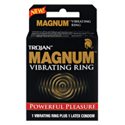 Trojan Magnum Vibrating Ring -