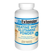 Creatine Whey Glutamine Vanilla Powder -