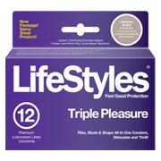 Lifestyles Triple Pleasure -
