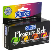 Durex Pleasure Pack -