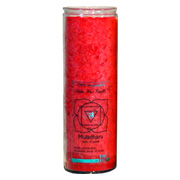 Red Candle Chakra Jar -