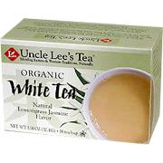 Organic White Tea with Lemongrass Jasmine -