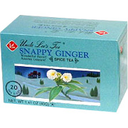 Snappy Ginger Spice Tea -