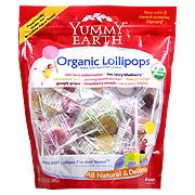 YumEarth Organics Assorted Pops -
