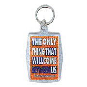 Keyper Keychains Condom 'The only thing that will come between us' -