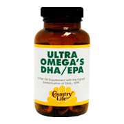 Ultra Omega's DHA EPA -