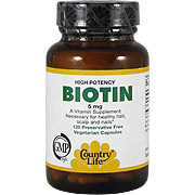 Biotin 5 mg Super Potency -