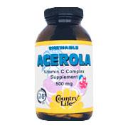 Acerola C 500 mg -