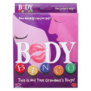 Body Bingo Game - 