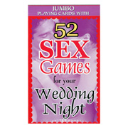 52 Sex Game For Your Wedding Night -