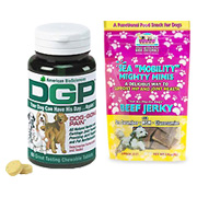 Dog Gone Pain + Sea Mobility Mighty Minis Beef Jerky -