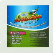 No Buzz Zone Patch -