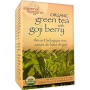 Imperial Organic Organic Green Tea with Goji Berry Tea -
