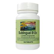 Sublingual B12 Plus -