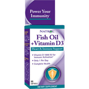 Fish Oil & Vitamin D3 1000mg -