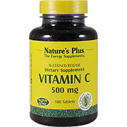 Vitamin C 500 mg Sustained Release Rose Hips -