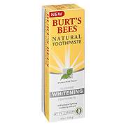 Natural Fluoride Whitening Toothpaste Peppermint -