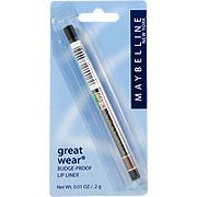 Great Wear Budge Proof Lip Liner Walnut -