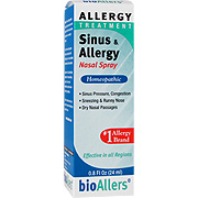BioAllers Allergy Sinus Nasal Spray -