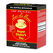 Laci Le Beau Super Dieter's Tea All Natural Botanicals -