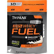 100% Whey Protein Powder Vanilla Zipper Pouch -