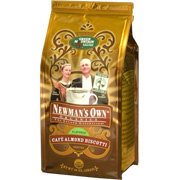 Fair Trade Certified Organic Coffee Cafe Almond Biscotti -