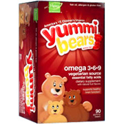 Yummi Bears Vegetarian Omega 3.6.9 Vitamins & Supplements -