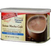 Suisse Mocha Caf� Sugar Free Coffeehouse Mix -