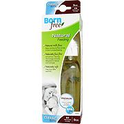 Wide Neck BPA Free Plastic Bottle -