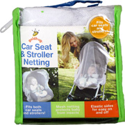 Car Seat & Stroller Netting -
