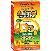 Animal Parade Vitamin D3 200IU Drops -
