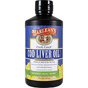 Cod Liver Oil Lemon Flavor -