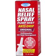 Nasal Relief Spray Pump Mist Anti Drip -