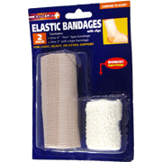 Elastic Bandages with Clips -