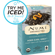 Aged Earl Grey Pu-erh Tea Ready to Drink Iced Tea -