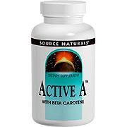 Active A 25000 IU With Beta Carotene -