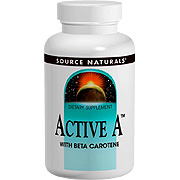 Active A 25000 IU With Beta Carotene -