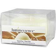 Vanilla Glass Candle -