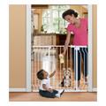 Sure & Secure Extra Tall Walk Thru Gate White -