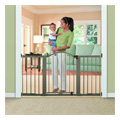 Stylish & Secure Wood & Metal Expansion Gate -