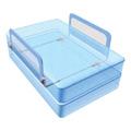 Sure & Secure Folding Double Bedrail Blue -