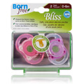 Bliss Button Pacifier Pink -