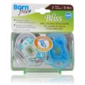 Bliss Handle Pacifier Blue -