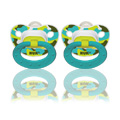 Trendline camouflage orthodontic pacifier sz2, 2pk, silicone -